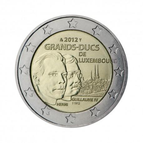 """Luksemburg 2012 - """"Henri in Guillaume IV"""""""