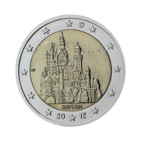 "Nemčija 2012 - ""Zvezna dežela Bavarska"" - D - UNC"
