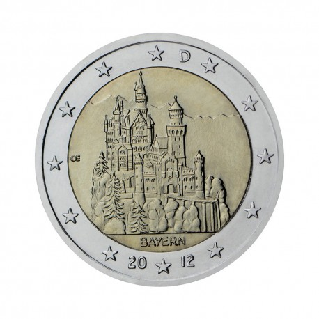 "Germany 2012 - ""Federal state of Bavaria"" - D"