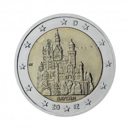"Nemčija 2012 - ""Zvezna dežela Bavarska"" - F"