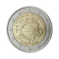 "Avstrija 2012 - ""Deset let Evra"" - UNC"