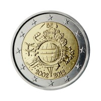 "Belgium 2012 - ""Ten years of the Euro"" - UNC"