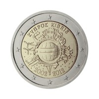 "Cyprus 2012 - ""Ten years of the Euro"" - UNC"
