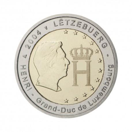 """Luxembourg 2004 - """"Grand-Duke Henri"""" - UNC"""
