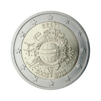"""Estonija 2012 - """"Deset let Evra"""" - UNC"""