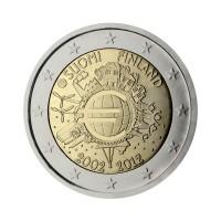 """Finska 2012 - """"Deset let Evra"""" - UNC"""