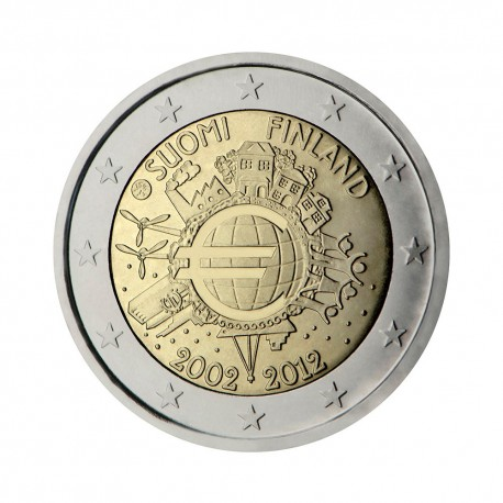 """Finland 2012 - """"Ten years of the Euro"""""""