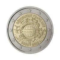 "Francija 2012 - ""Deset let Evra"" - UNC"