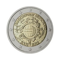 "Germany 2012 - ""Ten years of the Euro"" - F - UNC"