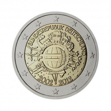 "Germany 2012 - ""Ten years of the Euro"" - F"