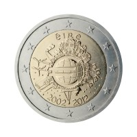 "Ireland 2012 - ""Ten years of the Euro"" - UNC"