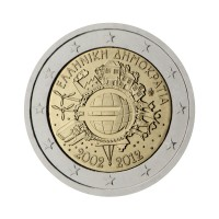 "Greece 2012 - ""Ten years of the Euro"" - UNC"