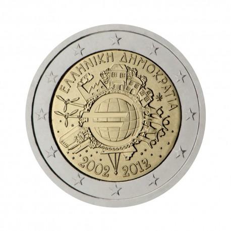 """Greece 2012 - """"Ten years of the Euro"""""""