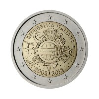 "Italy 2012 - ""Ten years of the Euro"" - UNC"