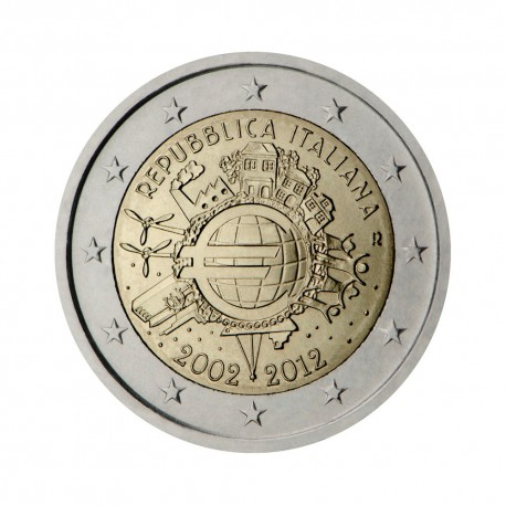 """Italy 2012 - """"Ten years of the Euro"""""""