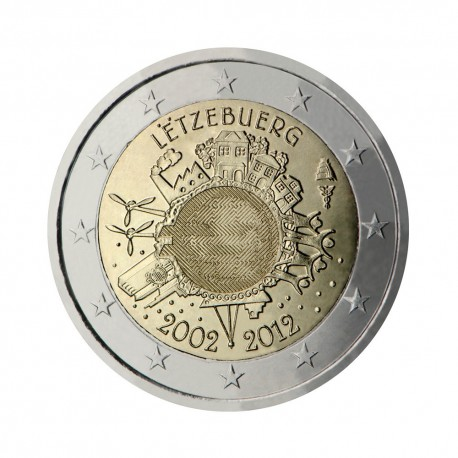 "Luxembourg 2012 - ""Ten years of the Euro"""