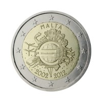 "Malta 2012 - ""Ten years of the Euro"" - UNC"