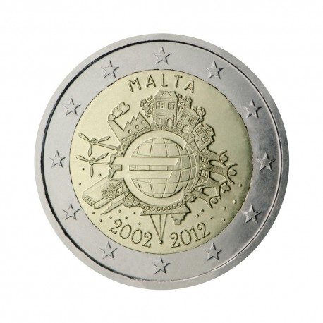 "Malta 2012 - ""Ten years of the Euro"""