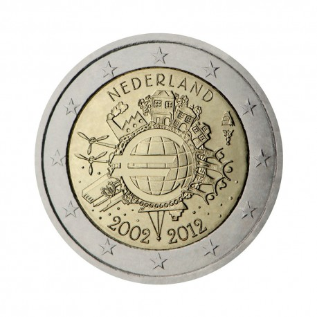 "Netherlands 2012 - ""Ten years of the Euro"""