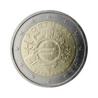 """Portugalska 2012 - """"Deset let Evra"""" - UNC"""