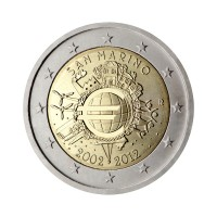 "San Marino 2012 - ""Ten years of the Euro"" - UNC"