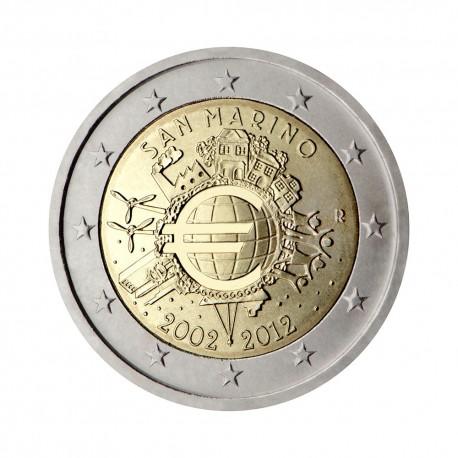 """San Marino 2012 - """"Deset let Evra"""""""