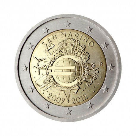 "San Marino 2012 - ""Ten years of the Euro"""