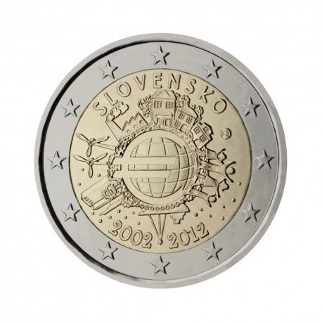 "Slovakia 2012 - ""Ten years of the Euro"""