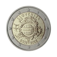 "Slovenia 2012 - ""Ten years of the Euro"" - UNC"