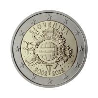 "Slovenija 2012 - ""Deset let Evra"" - UNC"