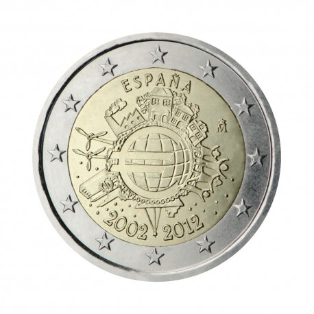 "Spain 2012 - ""Ten years of the Euro"""