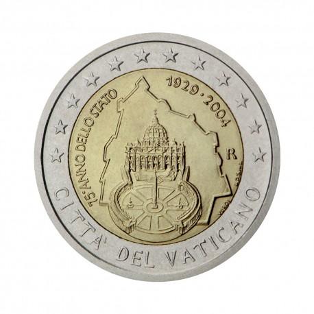 "Vatican 2004 - ""75th anniv. of the Vatican City State"" - UNC"