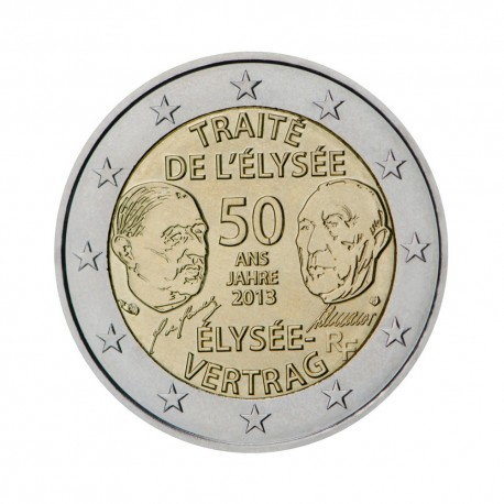 "France 2013 - ""Élysée Treaty"" - UNC"