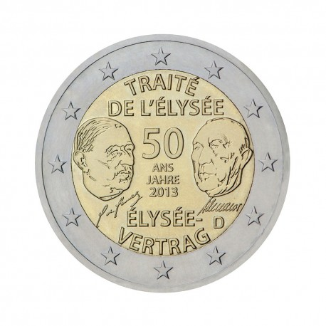"Germany 2013 - ""Élysée Treaty"" - D - UNC"