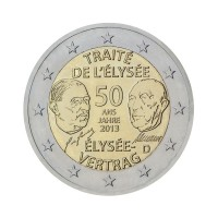 "Germany 2013 - ""Élysée Treaty"" - F - UNC"