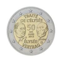 """Nemčija 2013 - """"Elizejska pogodba"""" - F - UNC"""