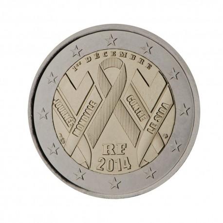 """Francija 2014 - """"Dan boja proti AIDS-u"""" - UNC"""
