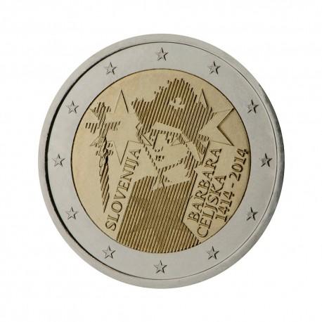 """Slovenija 2014 - """"Barbara Celjska"""" - UNC"""