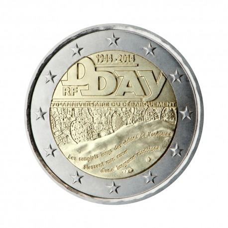 """France 2014 - """"D - day"""" - UNC"""