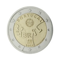 "Portugal 2014 - ""April Revolution"" - UNC"
