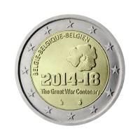 """Belgija 2014 - """"Prva svetovna vojna"""" - UNC"""
