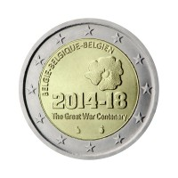 "Belgium 2014 - ""First World War"" - UNC"