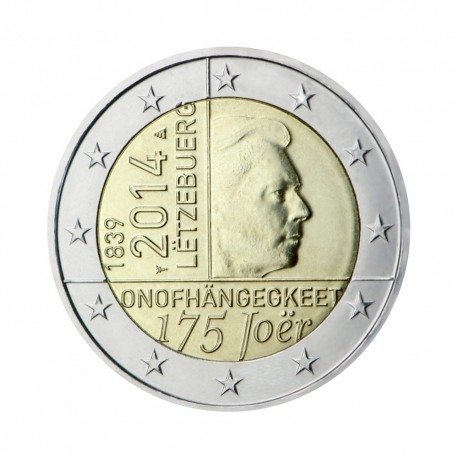 """Luxembourg 2014 - """"Independence"""" - UNC"""