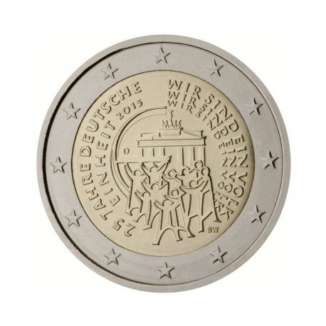 "Germany 2015 - ""German Unity"" - F - UNC"