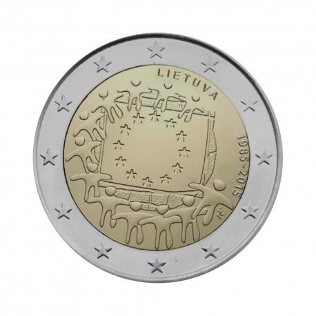 "Litva 2015 - ""30 let EU zastave"" - UNC"