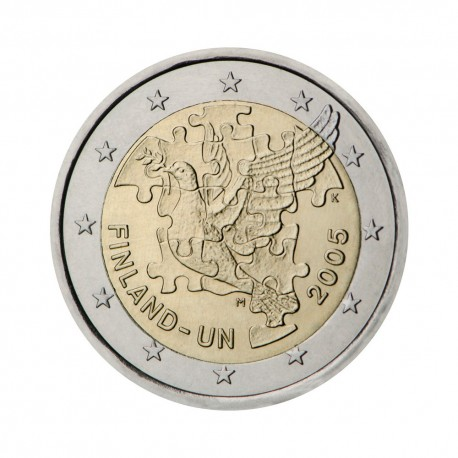 "Finland 2005 - ""United Nations"" - UNC"