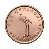 Slovenija 1 cent 2015 - UNC