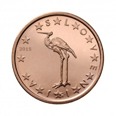 Slovenia 1 cent 2015 - UNC
