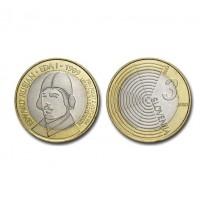"Slovenia 3 euro 2009 - ""Rusjan"" - UNC"