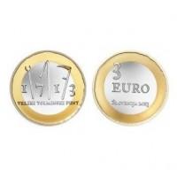 "Slovenija 3 evre 2013 - ""Tolminski punt"" - UNC"